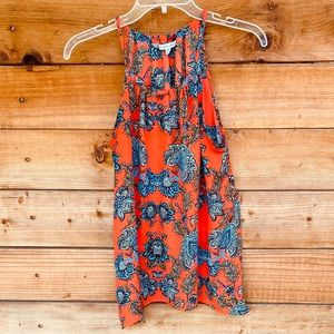 Collective Concepts tank top in red paisley